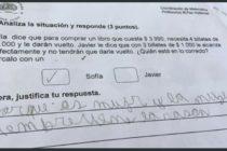 Así resolvió un niño en Chile complejo problema matemático de un examen