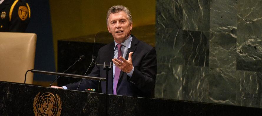 Mauricio Macri busca votos en Miami Beach