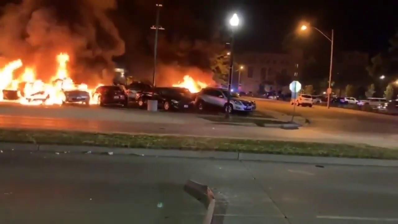 Protestas en Wisconsin luego de que un policía disparara 7 veces a ...