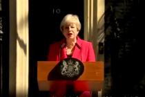 Primera ministra del Reino Unido, Theresa May, anuncia su dimisión como líder del Partido Conservador