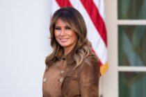 Melania Trump fue nombrada «Mujer distintiva» por su labor contra el ciberacoso
