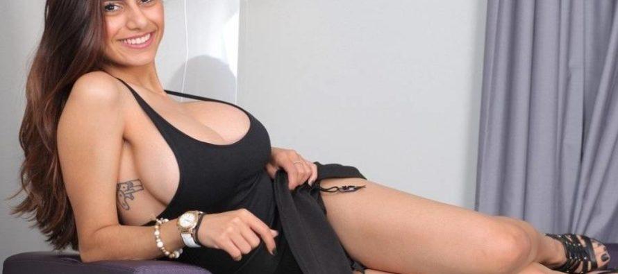 Mia Khalifa termina mojada tras una sexy sesión de fotos (FOTOS)