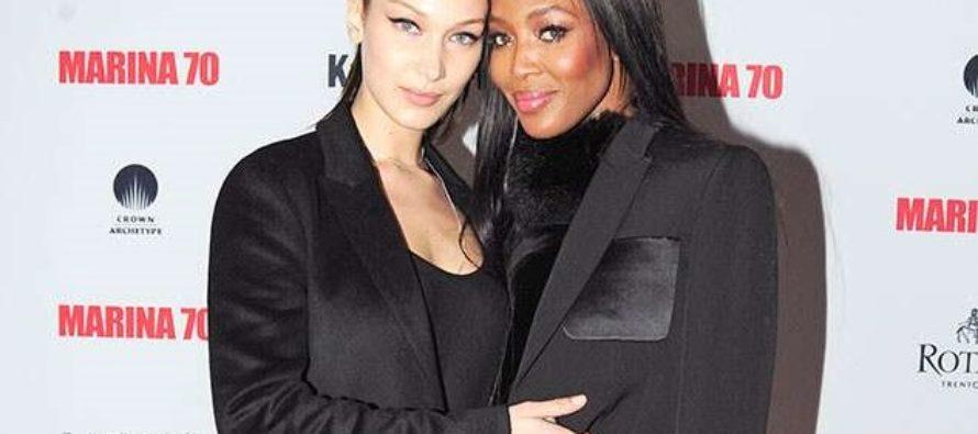 Bella Hadid y Naomi Campbell protagonizan sensual campaña de Calvin Klein (fotos)