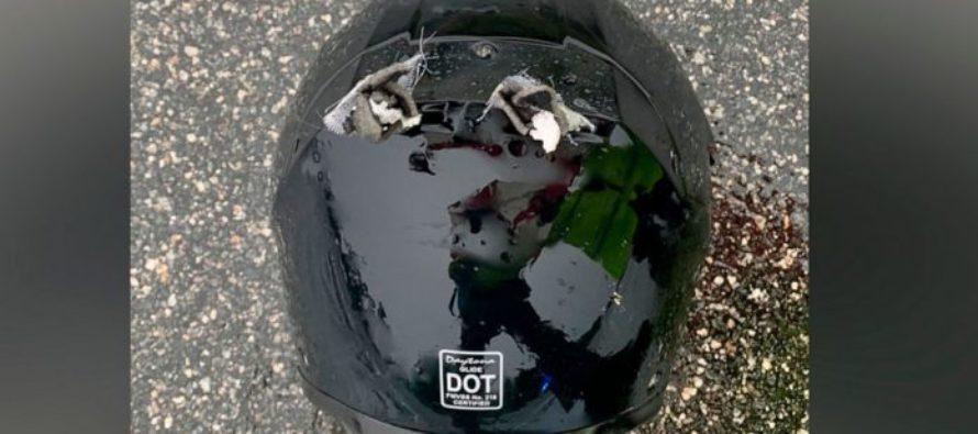¡Terrible! Motociclista falleció por un rayo en la I-95