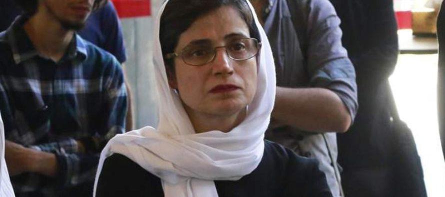 Condenaron a 33 años de cárcel y 148 latigazos a defensora iraní de los derechos de las mujeres