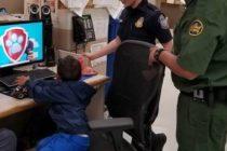 Patrulla Fronteriza consiguió a niño de 3 años caminando «solo y llorando»