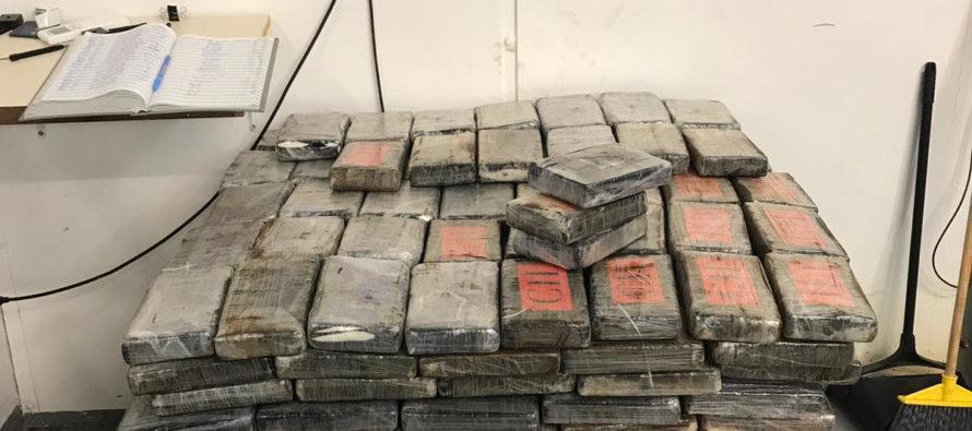 Incautan 1,493 libras de cocaína al este de Puerto Rico