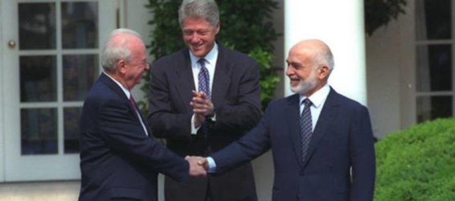 Acuerdo de paz entre Israel y Jordania cumple 25 años