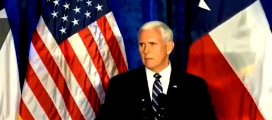 Mike Pence  en Miami solicitó al Congreso aprobar el T-MEC en los próximos tres meses