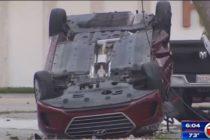 Persecución de la policía de Miami terminó con un muerto y tres heridos
