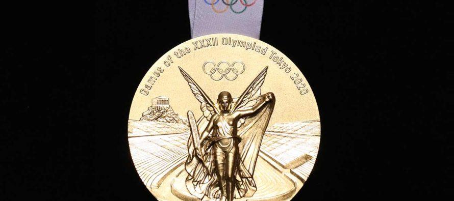 Medallas de Tokio 2020 estarán hechas con más de 78.000 toneladas de material reciclado