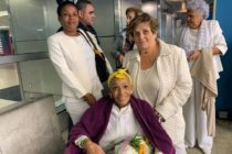 Dama de Blanco llega a Miami para recibir atención médica