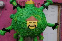 ¡Aunque no lo crea!  Se volvió viral una piñata del coronavirus (Foto)