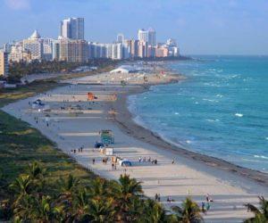 Recomiendan no bañarse en playas de Miami por derrame de aguas residuales