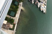 Las bombas de aguas pluviales continúan contaminando la bahía de Biscayne