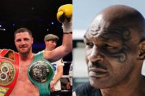 Revelan imagen de Mike Tyson donde «ahorca» a ex boxeador de niño