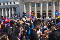 En Florida puertorriqueños exigieron entrega de ayudas federales autorizadas en 2017