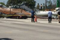 Definirán causa probable del desplome del puente peatonal de la Universidad Internacional de Florida