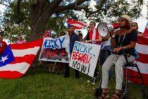 Centro de Miami fue escenario de protestas en contra del del gobernador de Puerto Rico