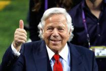 Abogados de Robert Kraft, propietario de New England Patriots, son acusados de mentir ante un tribunal