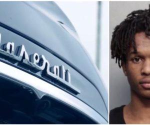 Arrestan a un joven por el robo a mano armado de un Maserati en Hialeah