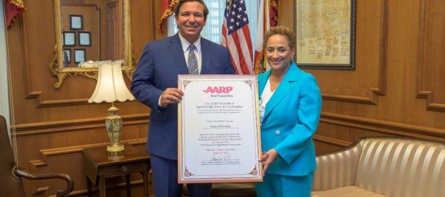 ¡Atención! Florida se unió a la Asociación Americana de Personas Jubiladas