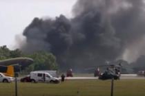 Autoridades investigan accidente mortal en exhibición aérea de Florida