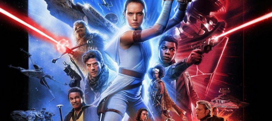 «Star Wars: The Rise of Skywalker» logró $ 175.5 millones en su fin de semana de estreno