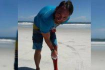 Surfista fue mordido en dos ocasiones por un tiburón en Florida