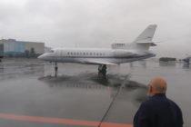 Díaz-Canel llega a México con su esposa en un jet privado del Estado venezolano