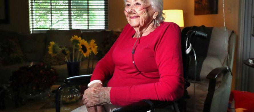 Con 97 años una mujer de Coral Spring, Florida vence al coronavirus