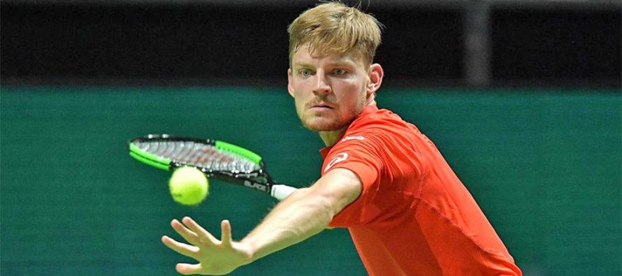Tenis: belga Goffin elimina al español Andujar en Masters 1000 de Miami