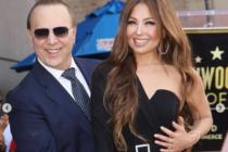 Así lucieron los hijos de Thalía al acompañar a su padre en la entrega de su estrella en Hollywood