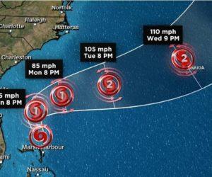 Humberto ya es huracán