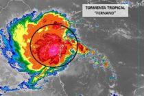 Tormenta Tropical Fernand se acerca al Golfo de México