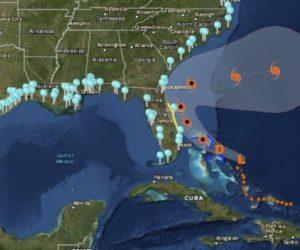 Tormenta tropical Humberto se aleja de Bahamas y se acerca a Florida