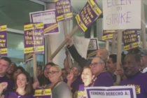 Trabajadores del Aeropuerto de Miami en huelga por condiciones laborales «insoportables»