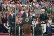 Donald Trump evitó la polarización en su discurso del 4 de Julio