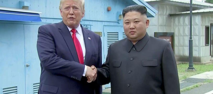 Donald Trump dio pasos históricos junto a Kim Jong Un, quien lo invitó a cruzar la frontera norcoreana