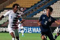 Estados Unidos igualó sin goles ante Japón y sumó su primer punto en el Mundial sub-17