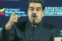 Maduro retó al presidente interino de Venezuela a convocar elecciones «para revocarlo con votos»