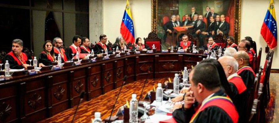 Tribunal Supremo de Justicia de Venezuela ordenó quitarle la inmunidad a cuatro diputados opositores