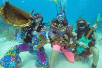 ¡Impresionante! Concierto submarino para preservar arrecifes coralinos se realizó en Florida