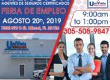 Primera Feria de Empleo de Univista Insurance