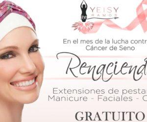 Homenaje a las luchadoras contra el cáncer con Yeisy Ramos