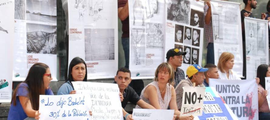 ONG venezolanas inician campaña «Juntos contra la tortura»