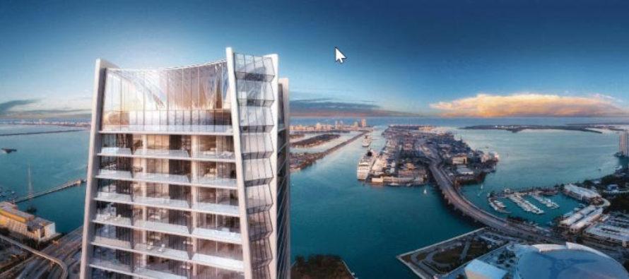 La obra One Thousand Museum, el rascacielos más lujoso de Miami a punto de finalizar