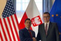 Embajador Vecchio discutió con embajadores de Georgia y Polonia posibles acciones contra el régimen usurpador de Maduro