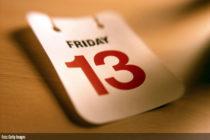 Viernes 13, ¿es este día tan infortunado como se cree?