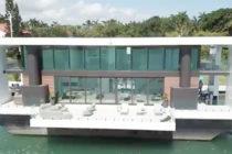 Ingeniosa vivienda flotante atrapa las miradas en Miami Beach